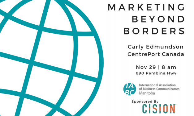 Marketing Beyond Borders: Carly Edmundson, Executive Director of Marketing & Communications for CentrePort Canada