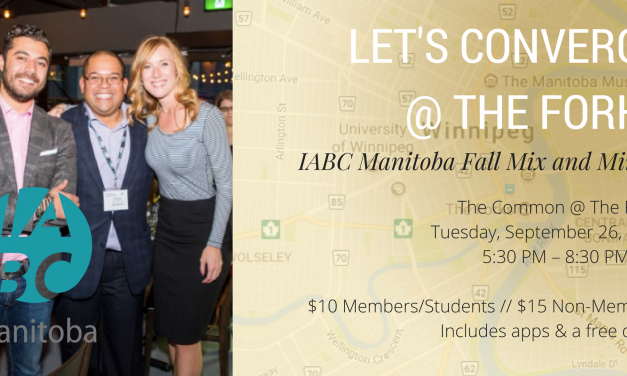 Let's Converge @ the Forks – Fall Mix & Mingle