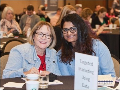 Claudia Miller, Principal ADirections and President of the IABC Orange County. She won the International IABC Leader of the Year award in 2017. Picture was from the IABC 2018 Leadership Institute in Dallas.