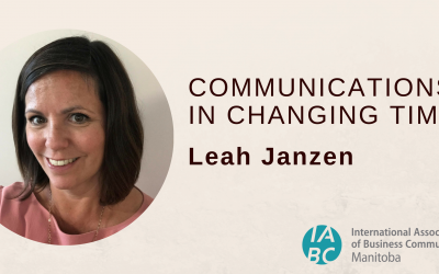 Oct 16 PD: Communications in Changing Times with Leah Janzen