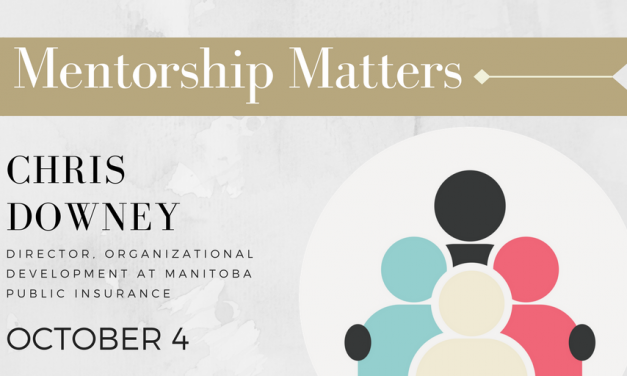 POSTPONED Mentorship Matters: Chris Downey, Director of Org. Develop. at MPI
