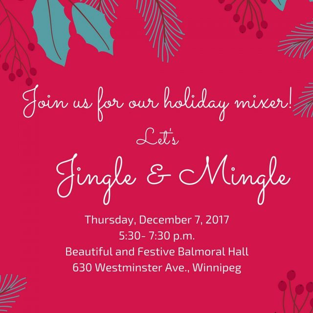 Our joint Holiday Mixer with CPRS Manitoba amp Ad Winnipeghellip