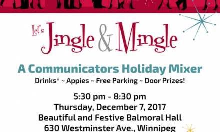 Let's Jingle & Mingle with IABC Manitoba, Ad Winnipeg & CPRS Manitoba