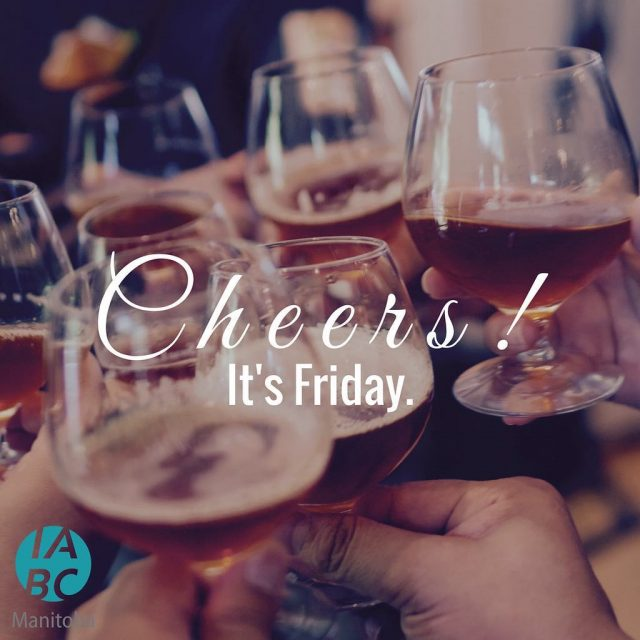 Cheers to the weekend! Only 6 days left until yourhellip