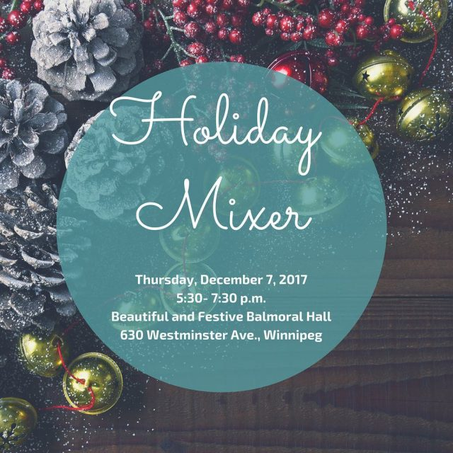 Only 4 days left until our annual Holiday Mixer!! Comehellip