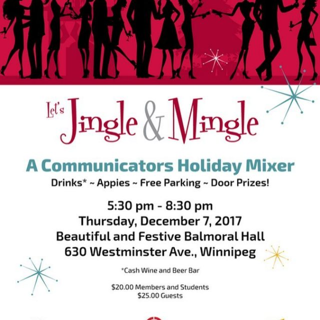 Tomorrow evening is our annual holiday mixer with Ad Winnipeghellip