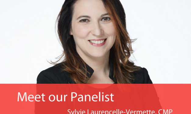 Meet your panelist – Sylvie Laurencelle-Vermette