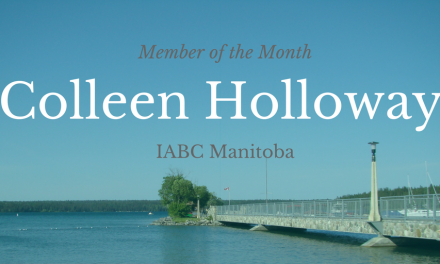 MEMBER OF THE MONTH- COLLEEN HOLLOWAY