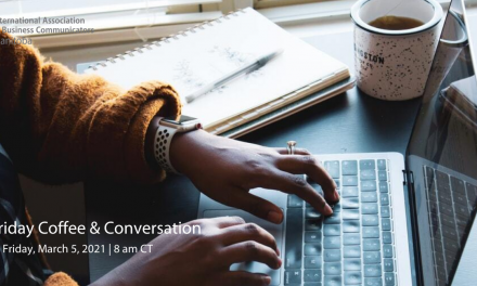 Coffee and Conversation, March – Monthly Virtual Meet-up
